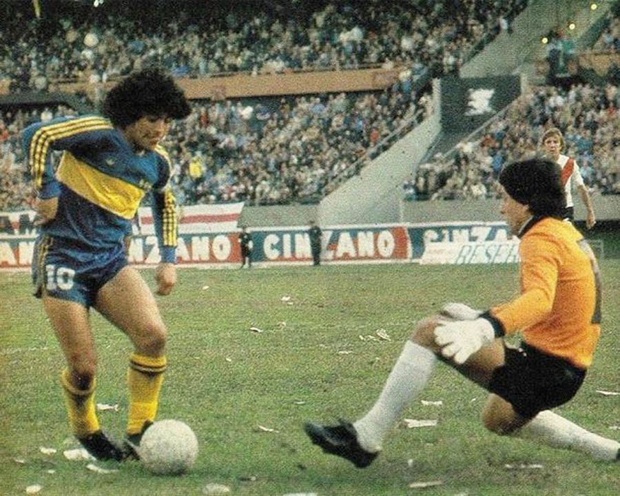 Boca Juniors Diego Maradona Ubaldo Fillol