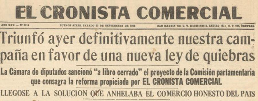 El Cronista Comercial Diario Anticipos