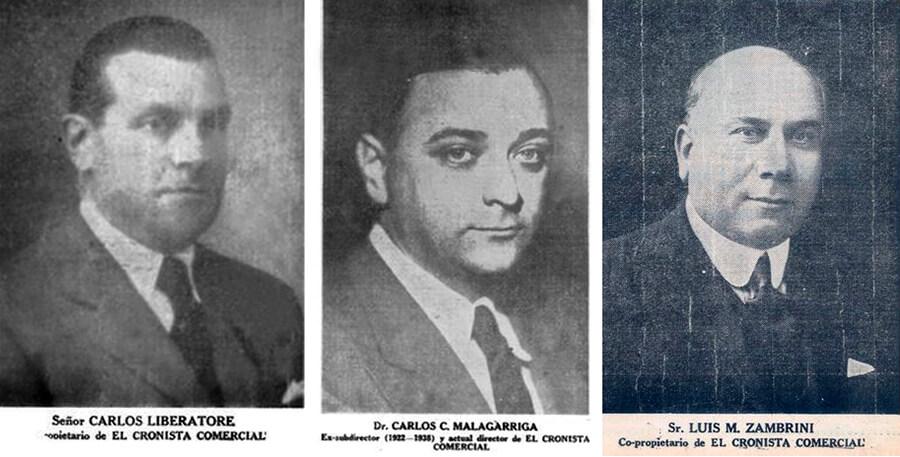 Directores del Cronista Comercial Diario Anticipos